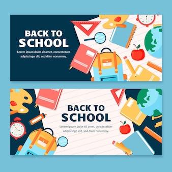 Torna a striscioni di scuola