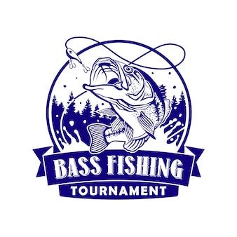 Torneo di bass fishing