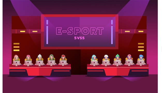 Torneo di e-sport girl