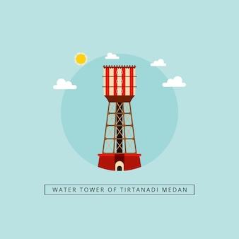 Torre dell'acqua di tirtanadi medan
