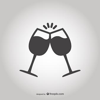 Tostatura con bicchieri