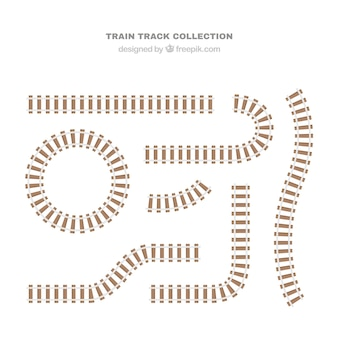 Tracce dei treni in pianta