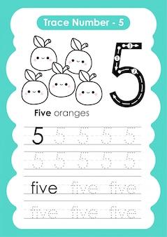 Traccia numero cinque - per i bambini dell'asilo e della scuola materna