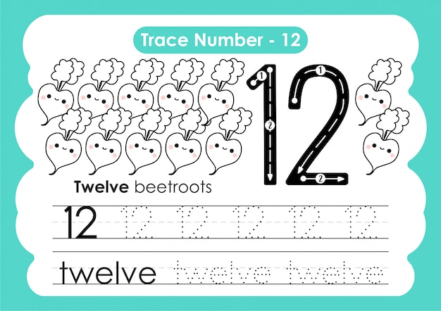 Traccia numero dodici - per i bambini dell'asilo e della scuola materna