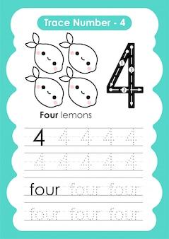 Traccia numero quattro - per i bambini dell'asilo e della scuola materna