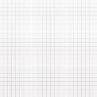 Trama della carta a quadretti. pagina del taccuino in gabbia.
