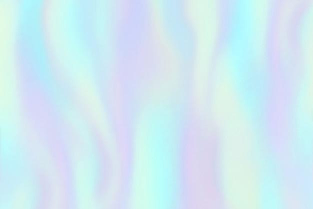 Trama di lamina arcobaleno. ologramma iridescente, bellissimo sfondo colorato di moda alla moda olografia