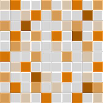Trama di piastrelle arancioni