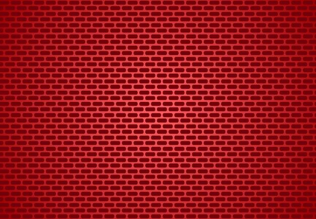 Trama di sfondo rosso muro reale