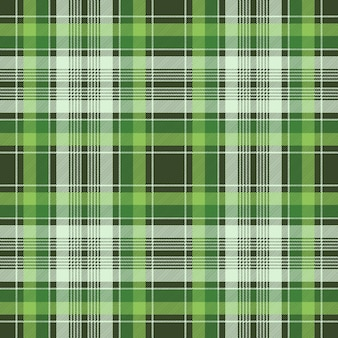 Trama di tessuto senza soluzione di continuità a quadri plaid tessuto irlandese verde