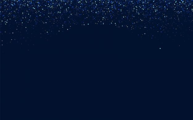 Trama stellata festosa scuro. cosmo bianco