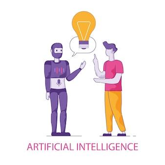 Trasferimento della conoscenza dall'umano all'umanoide