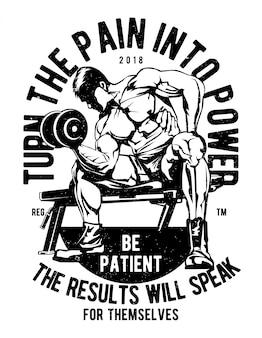 Trasforma il dolore in potenza