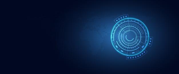 Trasformazione digitale futuristica