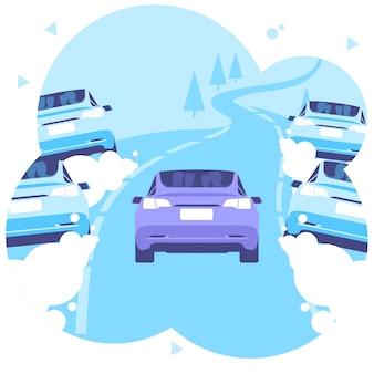 Trasporto auto eco