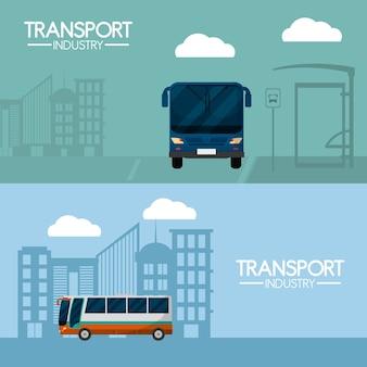 Trasporto di autobus e industria dei viaggi