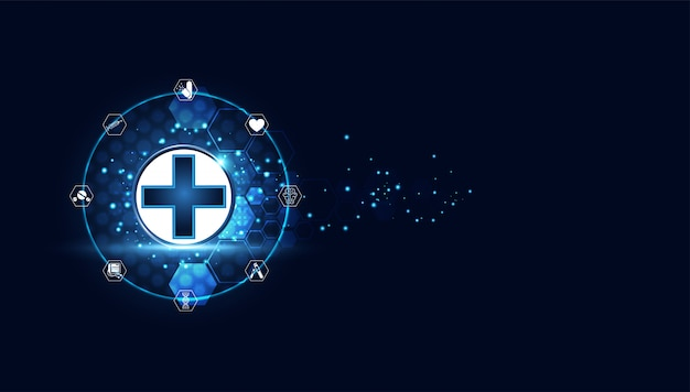 Trattamento medico di blue digital health plus