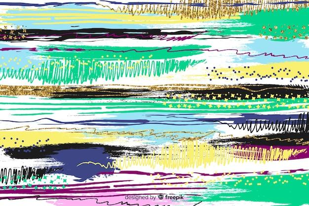 Tratti di pennello astratto sfondo