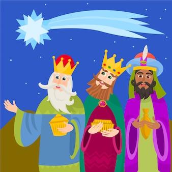 Tre re saggi