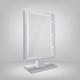 Tre specchio tridimensionale