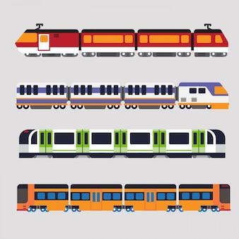 Treno e metropolitana