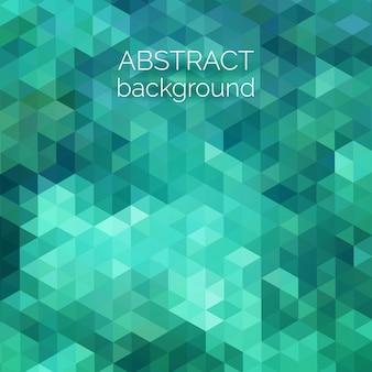 Triangoli astratti pattern di sfondo. sfondo geometrico acqua blu.