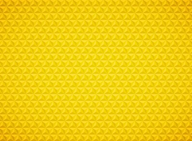 Triangolo di lusso modello geometrico sfondo oro