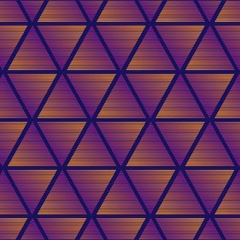 Triangolo gradiente sullo sfondo del modello