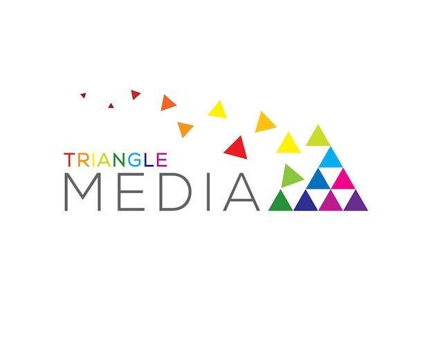 Triangolo logo multimediale