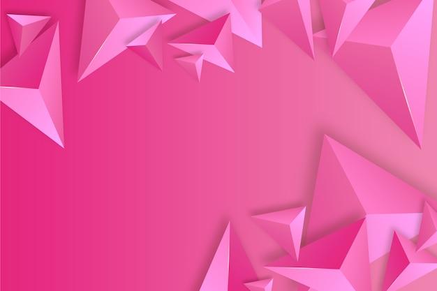 Triangolo rosa sullo sfondo
