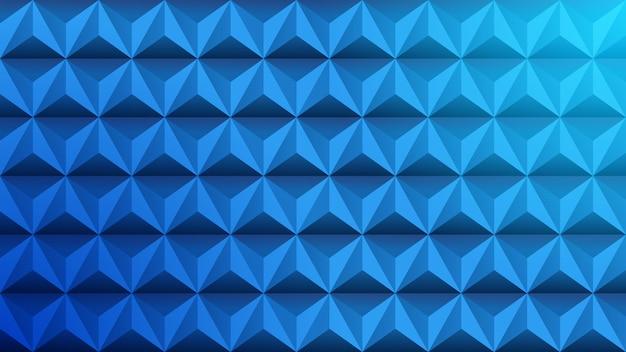 Triangolo sfondo geometrico con il blu