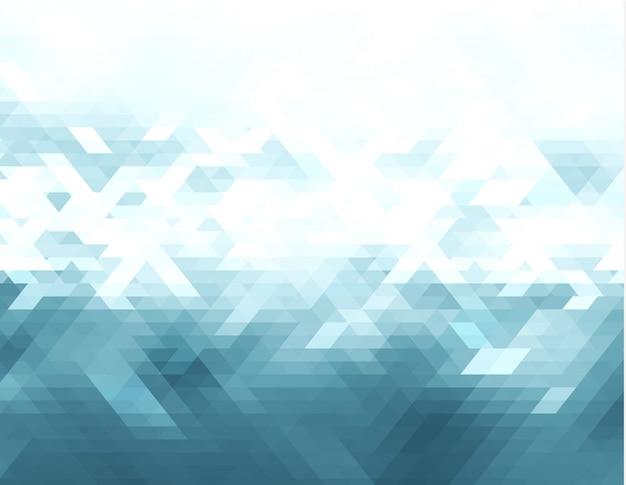 Triangolo vettoriale astratto