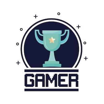 Trofeo di videogiochi classico