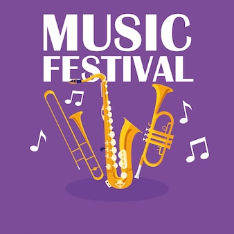 Trombe e strumenti musicali per sassofono