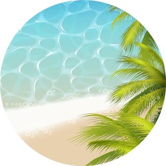 Tropical paradizetheme