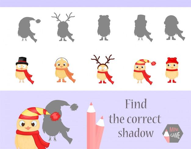 Trova l'ombra corretta