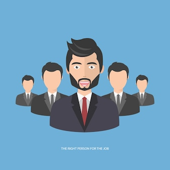 Trova la persona giusta per il lavoro