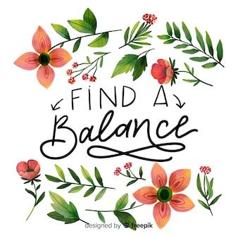 Trovare un equilibrio