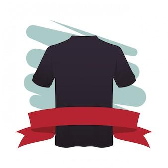 Tshirt di sport fitness maschile