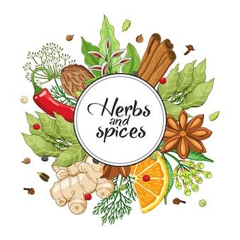 Turno invernale con spezie ed erbe aromatiche