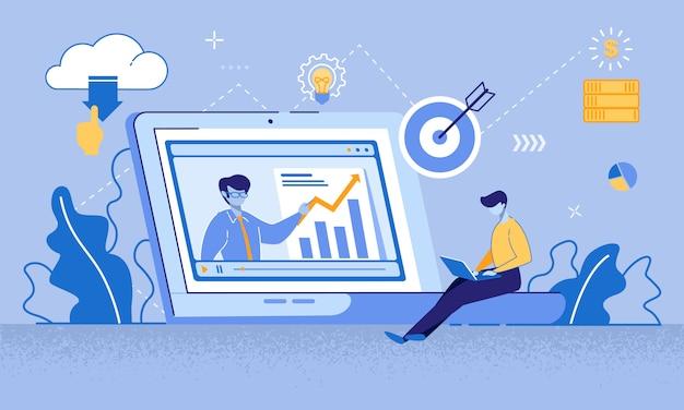 Tutorial video sul marketing target per l'alfabetizzazione finanziaria