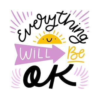 Tutto andrà bene e sole