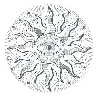 Tutto l'occhio vedente illumina il nuovo ordine mondiale