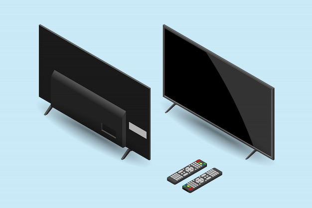 Tv led con telecomando.