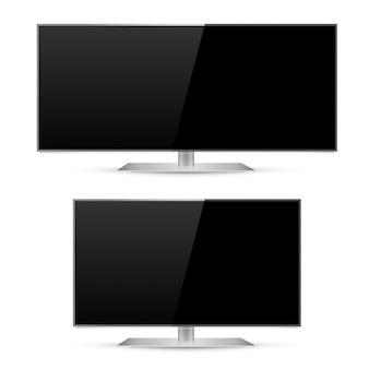 Tv ultra larga e moderna