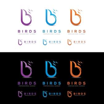 Uccelli-b-letter-logo