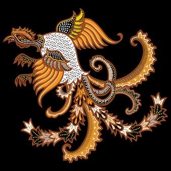 Uccello batik