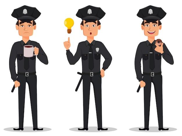 Ufficiale di polizia, poliziotto