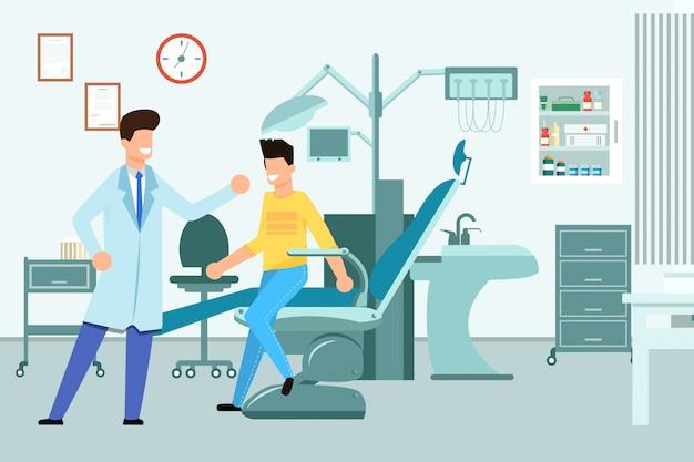 Ufficio dentisti interni