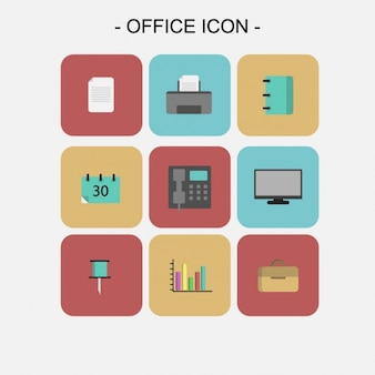 Ufficio icons collection